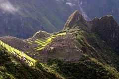 The Famous Machu Picchu Royalty Free Stock Photography