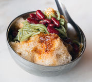 Famous Malaysian cendol dessert Royalty Free Stock Images