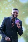 Famous male singer uwechue emmanuel ( haoge ) Royalty Free Stock Images