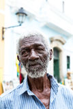 The famous man called Pele sells gifts to tourists at Pelourinho in Salvador, Bahia Royalty Free Stock Photography