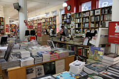 Famous Manhattan Bookstore Stock Images
