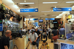 Famous Manhattan Camera Store Royalty Free Stock Image