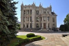 The famous mansion Vladislav Gorodetsky - House with Chimeras Stock Image