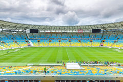 The famous Maracana Stadium in Rio de Janeiro, Brazil royalty free stock photo