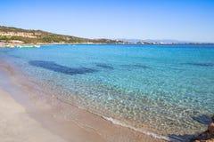 Beautiful beach on Sardegna island, Italy. Famous Marmolata beach on Sardegna island, Italy stock image