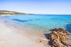 Beautiful beach on Sardegna island, Italy. Famous Marmolata beach on Sardegna island, Italy royalty free stock photo