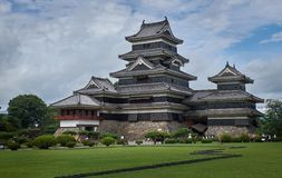 Matsumoto castle, Japan, August 2017. Famous Matsumoto castle, part of the UNESCO World Heritage, Japan, August 2017 Royalty Free Stock Photos