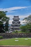 Matsumoto castle, Japan, August 2017. Famous Matsumoto castle, part of the UNESCO World Heritage, Japan, August 2017 Stock Photo