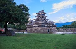 Matsumoto castle, Japan, August 2017. Famous Matsumoto castle, part of the UNESCO World Heritage, Japan, August 2017 Stock Photography
