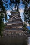 Matsumoto castle, Japan, August 2017. Famous Matsumoto castle, part of the UNESCO World Heritage, Japan, August 2017 Royalty Free Stock Images