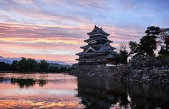 Matsumoto castle, Japan, August 2017. Famous Matsumoto castle, part of the UNESCO World Heritage, Japan, August 2017 Royalty Free Stock Photography