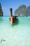Famous Maya bay of Phi-phi Leh island Royalty Free Stock Image