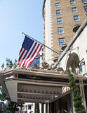 The Famous Mayflower Hotel Stock Photography