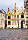 Gate to Burg, Bruges Royalty Free Stock Image