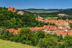 The famous medieval town of Sighisoara,Transylvania,Romania,Europe Royalty Free Stock Image