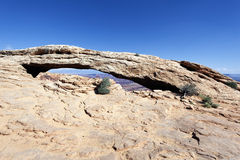 The famous Mesa Arch Stock Photos