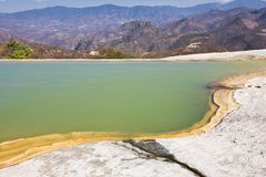 Famous mineral springs in Oaxaca, Mexico Stock Photos