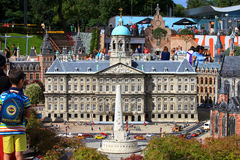 Famous miniature park and tourist attraction of Madurodam Royalty Free Stock Photo