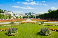 Famous Mirabell Gardens in Salzburg, Austria Royalty Free Stock Photo