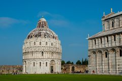 Famous Miracle square in Pisa, Italy Stock Photography