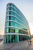 Famous modern westhafen-haus Royalty Free Stock Photography