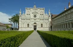 Famous monastery of Pavia, Italy Stock Photo