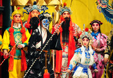 Famous Monkey King opera performance Royalty Free Stock Photography