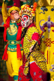 Famous Monkey King opera performance Royalty Free Stock Photo