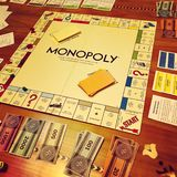 Monopoly game stock photography