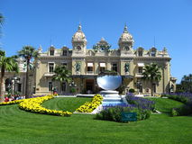 The Famous Monte Carlo Casino. View from the front, non-edited Royalty Free Stock Images