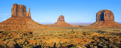 Famous Monument Valley Royalty Free Stock Photos