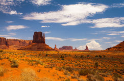 Famous Monument Valley in USA Royalty Free Stock Photos