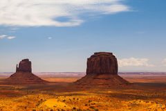 Famous Monument Valley in USA Stock Photography