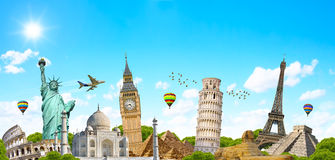 Famous monument of the world Stock Images