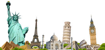Famous monument of the world Stock Photo