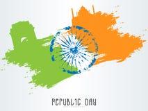 Famous monuments with Ashoka Wheel for Republic Day. Stock Photos