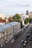 The famous Moscow old street Royalty Free Stock Photo