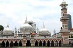 Famous mosque in Kuala Lumpur, Malaysia - Masjid Jamek Stock Images
