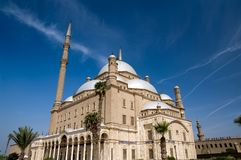 Famous mosque of Mohamed Ali Royalty Free Stock Image