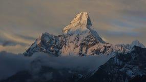 Famous mountain Ama Dablam Royalty Free Stock Image