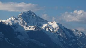 Famous mountain Jungfrau, Stock Images
