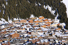 Famous mountain village Stock Photography