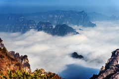 The famous mountains in China Stock Images
