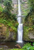 Famous Multnomah falls in Columbia river gorge, Oregon.  stock image