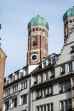 Famous Munich Cathedral, also called Cathedral of Our Dear Lady, Munich stock image
