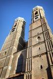 Famous Munich Cathedral - Liebfrauenkirche Stock Image