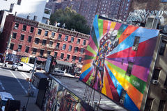 Famous Mural New York City Royalty Free Stock Images