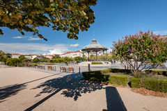 The famous music dome on the `Champ de Mars` of the city Valence Royalty Free Stock Image