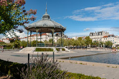 The famous music dome on the `Champ de Mars` of the city Valence Stock Photo