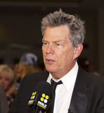 Famous musician, producer, songwriter David Foster royalty free stock image